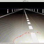 Headlight illumination simulation test