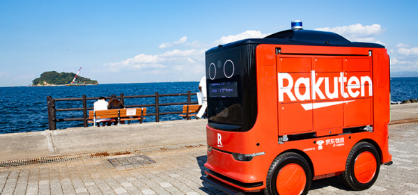 SELF-DRIVING DELIVERY VEHICLE IN JAPAN