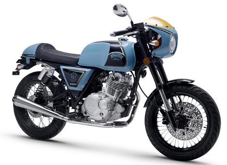 银色的摩托车  描述已自动生成